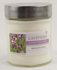 Lavender Scented Soy Massage Candle With Jar Smg92103c