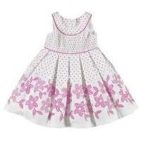 Girls Embroidered Frock
