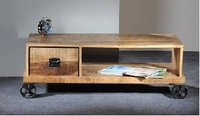 Industrial Wooden Media Unit