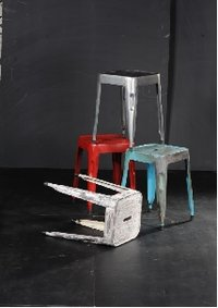 Industrial Tollex Stools