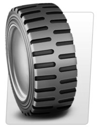 Press On-Bond Solid Tyre