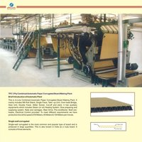 3 Ply Combined Automatic Paper Plant