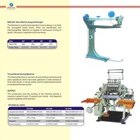 Box Stiching Machine