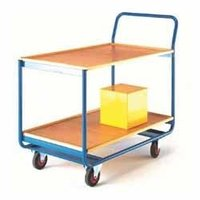 Wooden Shelf Trolley