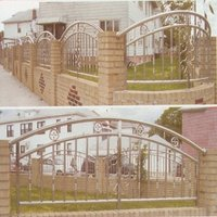Front Gate Railings