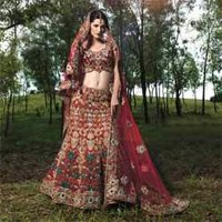 Embroidered Bridal Lehengas