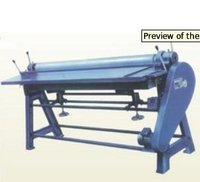 Sheet Pasting Machine(Coated Rollers/S.S Rollers)