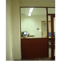 Half Glass PVC Office Partition