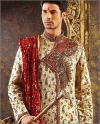 Embroidered Sherwani