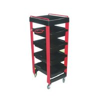 Multiple Rack Salon Trolley