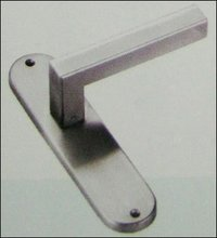 Designer Round Plate Lever Handles