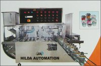 Head Cup Linear Automatic Sealing Machine