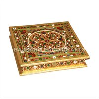 Brass Coated Dry Fruit Box