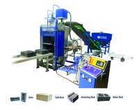 Fully Automatic Flyash Brick And Block Making Machine