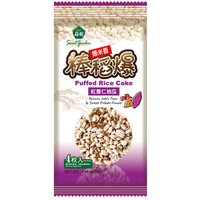 Puffed Rice Cake- Brown Job's Tear and Sweet Potato Flavor