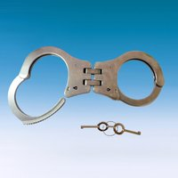 Stainless Steel Double Hinged Handcuff ( Hathkadi )