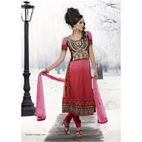 Embroidered Anarkali Salwar Suits