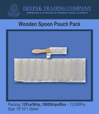Ice Cream Wooden Spoon Pouch Pack