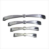 Zinc Chrome Door Cabinet Handles