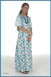Cotton Piping Nighties