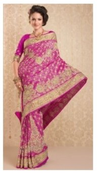 Shubangi Embroidery Saree