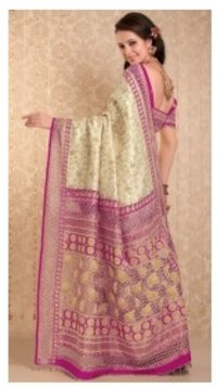 Swarnabha Embroidery Saree