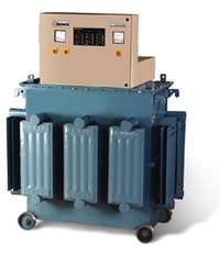Servo Controlled Voltage Stabilizer (Three Phase) - Oil Cooled