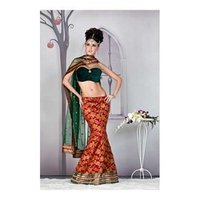 Fish Cut Lehenga Choli