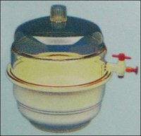 Desiccator (Plain) Plastic/Glass (Ls-36)