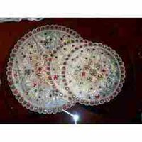 Large And Small Round Doilies