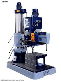 Mmt Radial Drilling Machine