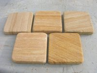 Teak Honed Tumble Pavers
