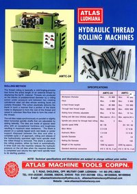 Hydraulic Threading Rolling Machinery