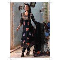 Ladies Satin Designer Suit