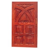 Engraved Entrance Door