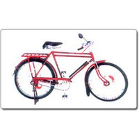 Gents Double Bar Colored Bicycles