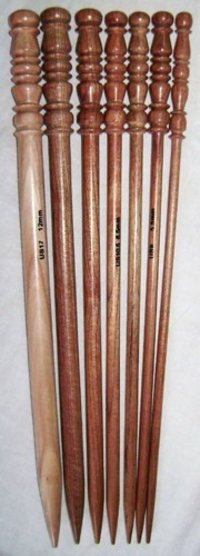 Wooden Knitting Needles