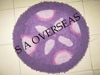 Round Cotton Bath Mats