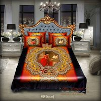 Digital Print 3 Piece Bedsheet Set