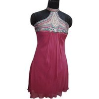 Ladies Pink Indo Western Dress
