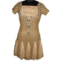 Golden Design Indo Western Dress