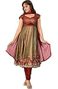 Ladies Sleeveless Anarkali Suit