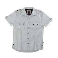 Mens Cotton Short Sleeves Shirt