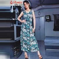 Ladies Printed Long Dresses