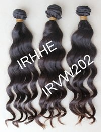 Wavy Virgin Human Hair Weft