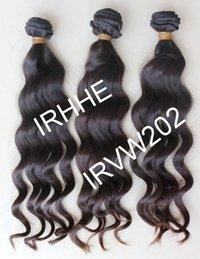 Wavy Virgin Human Hair Weft