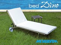 Stainless Steel Sun Bed