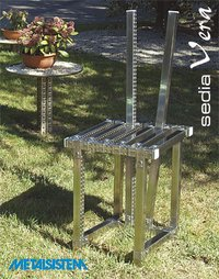 Stainless Steel V Type Chair