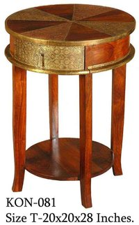Designer Wooden End Table