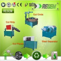 Scrap Tyre Cutting Machine
